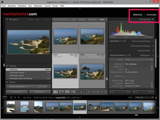 Lightroom mal anders