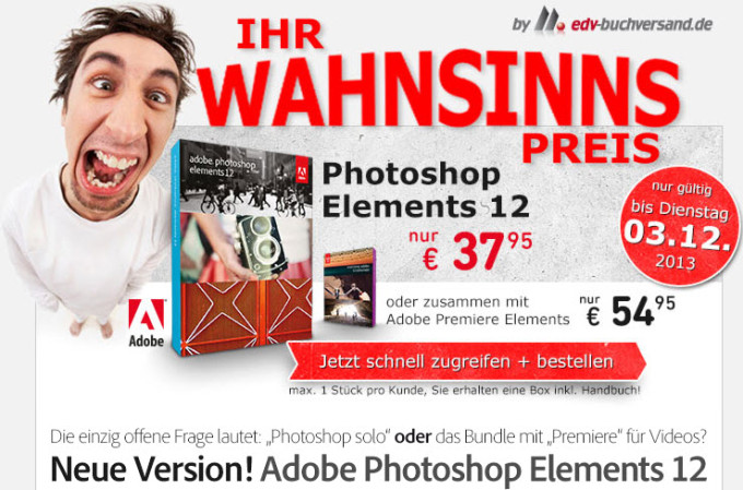 Adobe Photoshop Elements und Premiere Elements