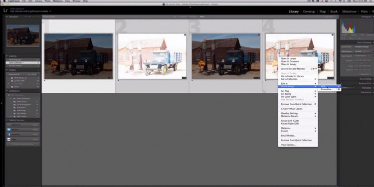 HDR-Funktionen in Adobe Lightroom 6