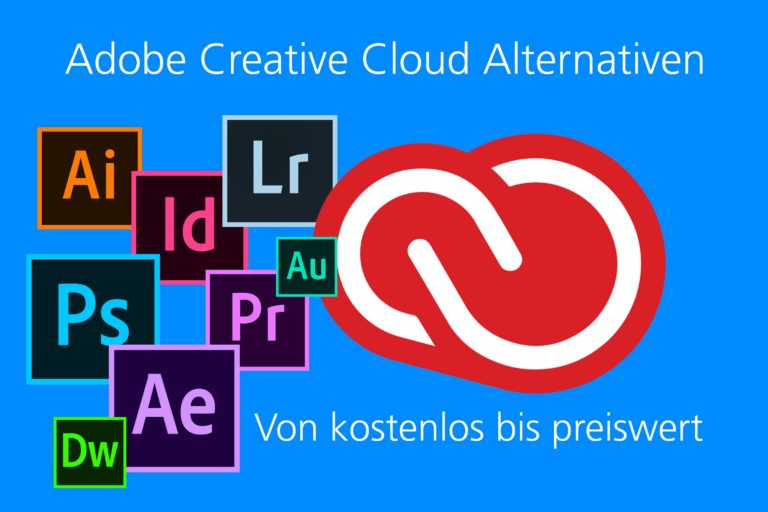 Adobe Creative Cloud Alternativen kostenlos