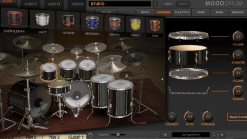 IK Multimedia MODO Drum - Physical Modelling trifft Sampling