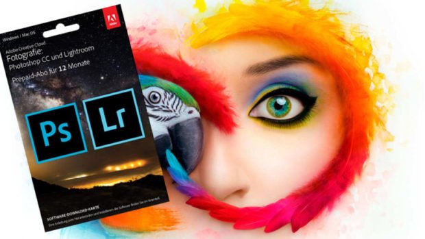 Adobe Creative Cloud Lightroom Prepaid für 89,90 €