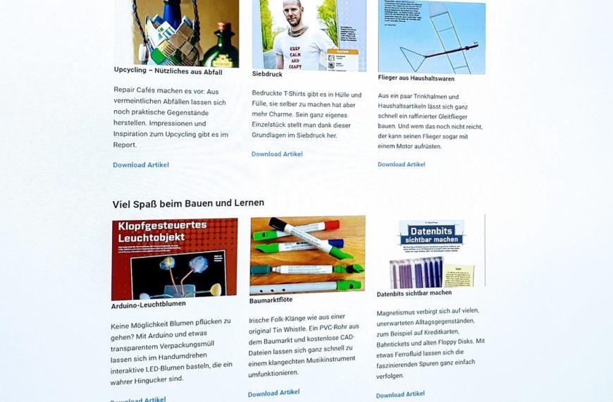 Lernend durch die Krise: 150+ kostenlose Make-Artikel als PDF