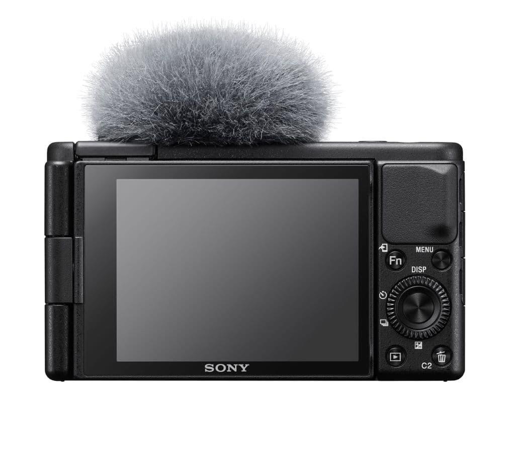 Sony ZV-1 Rückansicht