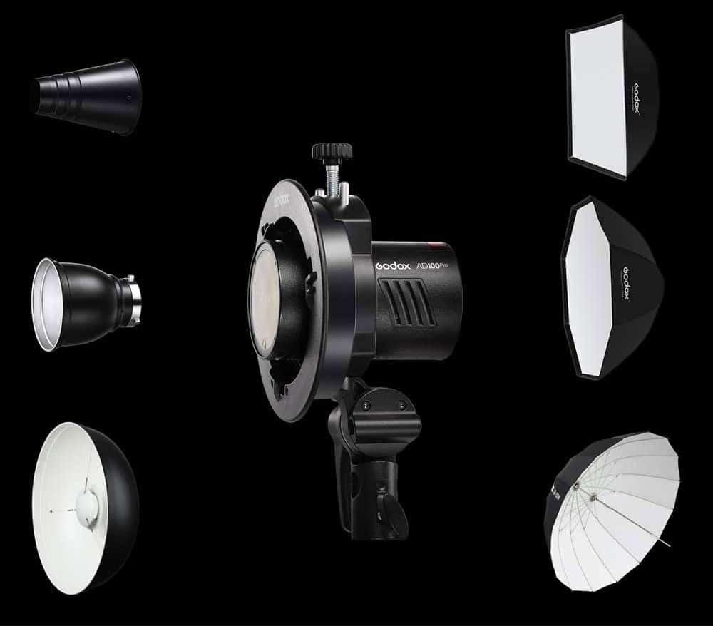 Lichtformer mit Bowens-Anschluss