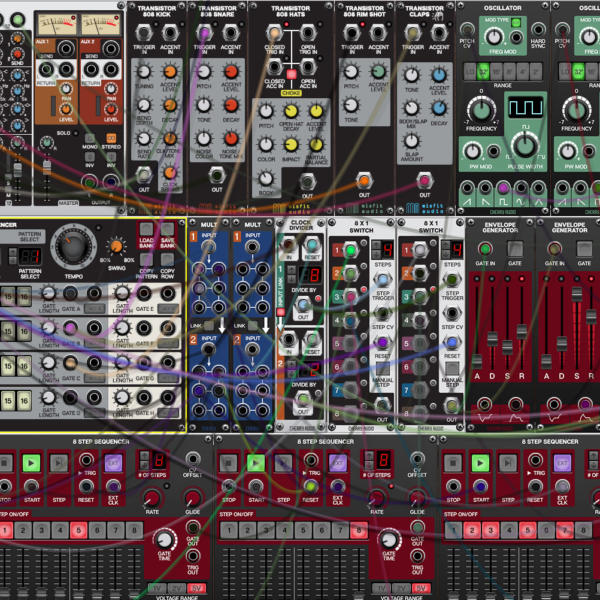 Cherry Audio Voltage Modular - virtueller Modular-Synthesizer