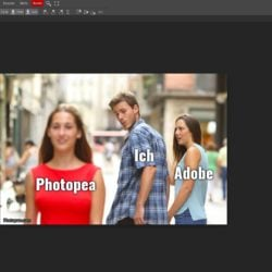 Photopea: kostenlose Photoshop-Alternative im Webbrowser